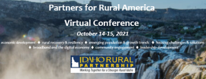 Partners for Rural America Virtual Conference Event Graphic