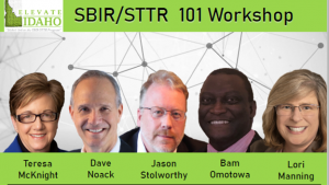 SBIR STTR Workshop Graphic